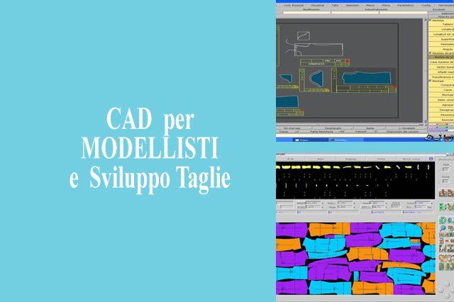 CAD  per MODELLISTI  e  Sviluppo Taglie