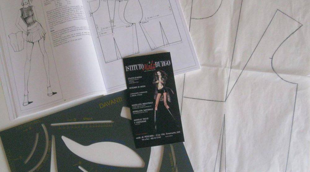 Modello taglio e confezione scuola di moda pescara for Scuola di moda pescara